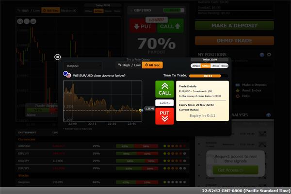 EzOption screen shot