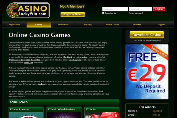 Casino Lucky Win screen shot
