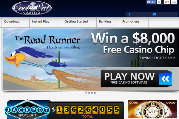 Cool Cat Casino screen shot