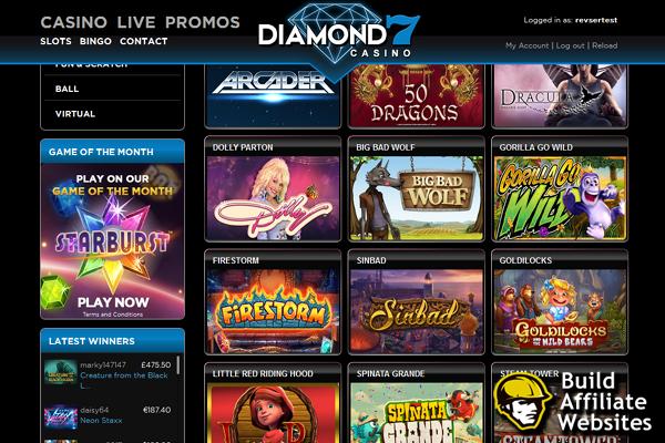 Diamond7 screen shot