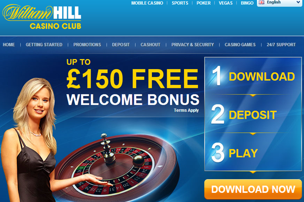 William Hill Casino screen shot