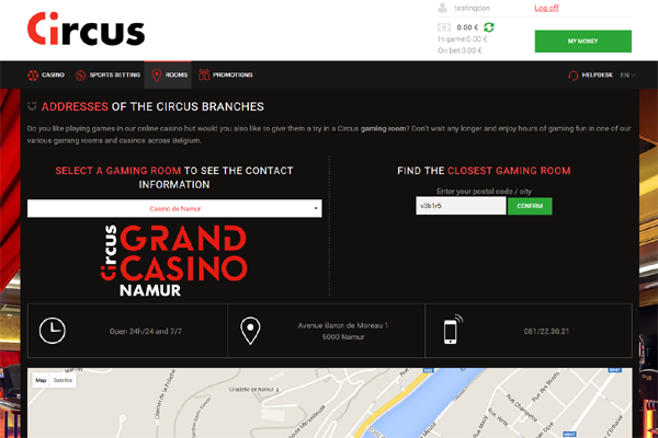Circus Casino screen shot