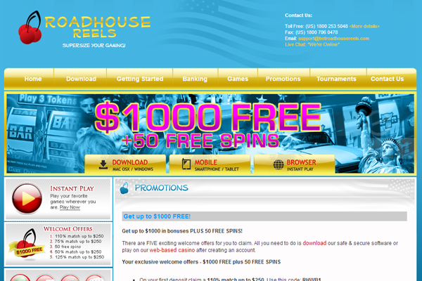 Roadhouse Reels screen shot