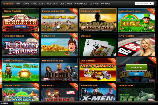 Winner Casino screen shot