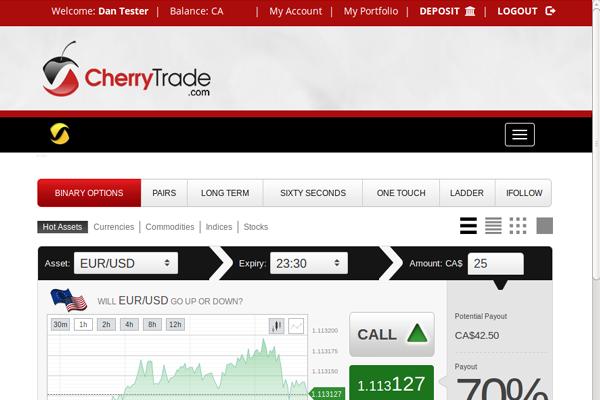Cherry Trade screen shot
