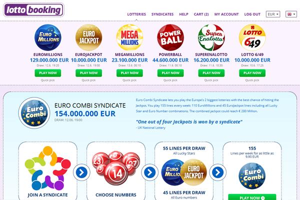 LottoBooking screen shot