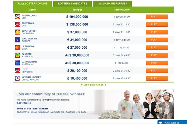 Lotto Kings screen shot