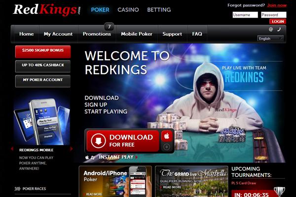 Red Kings Poker screen shot