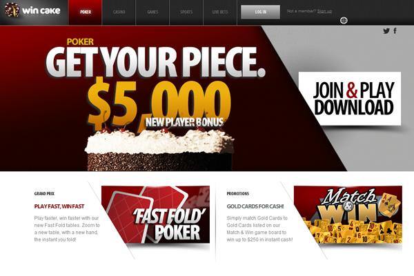 Win Cake Poker screen shot