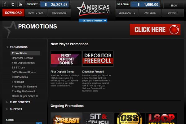 ACR Poker screen shot