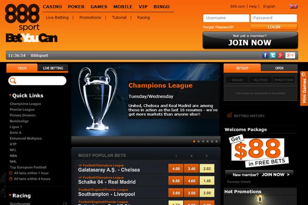 888 Sport screen shot
