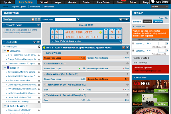 Winner Sports screen shot