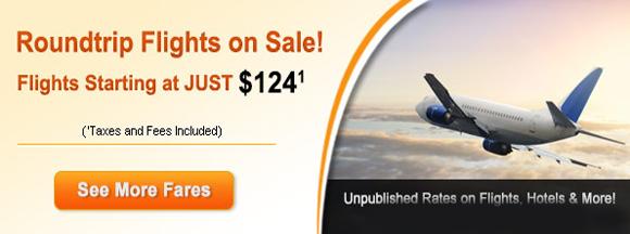 round trip flights